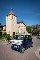 Auro Self Driving Shuttle, Santa Clara University