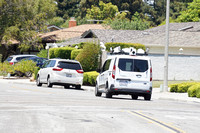 Unmarked Mapping Vehicle in Silicon Valley (believed to be Apple
