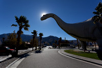Dinosaurs at Cabazon, Riverside County, California
