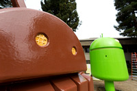 Android Sculpture Graveyard